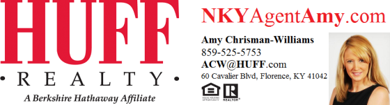 HUFF Realty NKY Agent Amy website